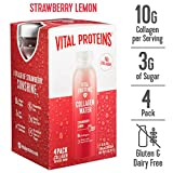 Health & Personal Care : Vital Proteins Collagen WaterTM (Strawberry Lemon, 4 pack)
