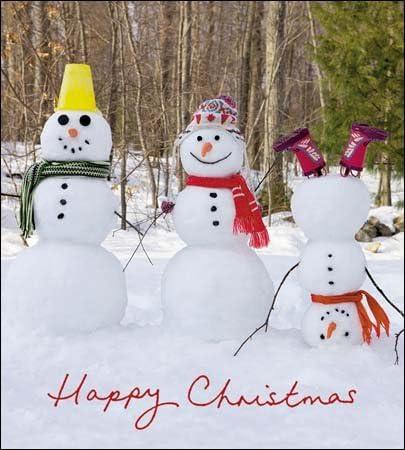 Tarjetas navideñas de caridad (WDM7857) – Frosty Fun – 3 muñeco de nieve – Pack de 5 tarjetas – se vende en ayuda de Marie Curie: Amazon.es: Oficina y papelería
