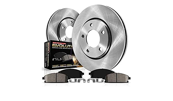 Autospecialty KOE6281 Daily Driver 1-Click OE Replacement Rear Brake Kit Power Stop