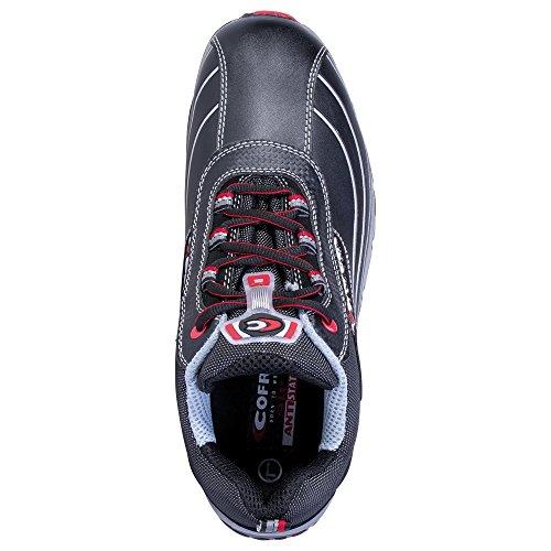 Cofra New Devil S3 SRC Paire de Chaussures de sécurité Taille 41 Noir