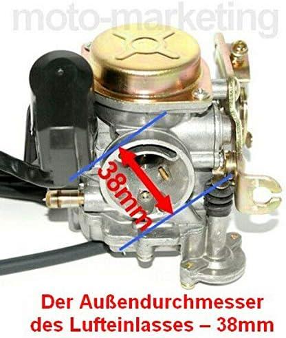 Unbranded Tuning Racing VERGASER Auto Choke KIT f/ür SYM MIO 50
