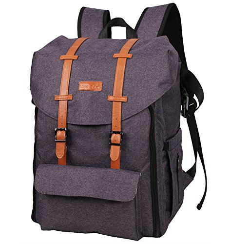 HapTim Multi-function Large Capacity Baby Diaper Bag Backpack,Double Deck Design,Fashion Cool Kid/Baby Travel Backpack, Gift for Mother Father( 5312 Dark Grey) by Hap Tim