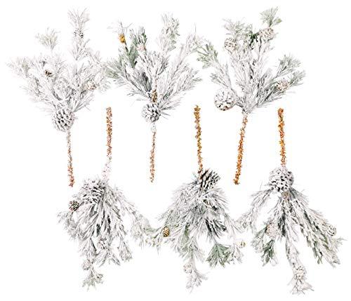 CraftMore Hillsboro Pine Pick 16 Set of 6