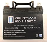 ML35-12 - 12V 35AH DC DEEP CYCLE SLA SOLAR ENERGY STORAGE BATTERY - Mighty Max Battery brand product