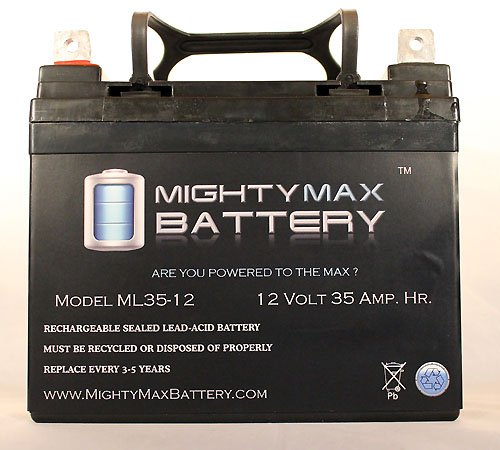 Mighty Max Battery 12V 35Ah U1 Invacare Pronto M50, M51, M61, M71, Booster Battery brand product by Mighty Max Battery (Image #2)