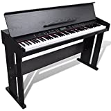 Anself Classic Electronic Digital Piano with 88 Weighted Keys & Music Stand