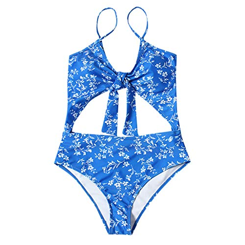 Womens Sexy Solid Costume Padded Swimsuit Monokini Bikini