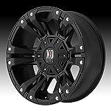xd series rims 18 - XD Series by KMC Wheels XD822 Monster 2 Matte Black Wheel (18x9