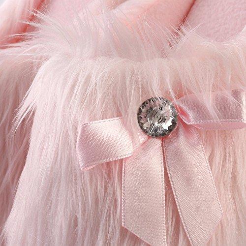 Furry Warm Slipper Winter Aerusi House Plush Bedroom Slip On Fluffy Women's 6n51qc5a
