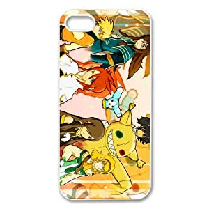 Custom role-playing video game Tales of the Abyss iPhone 5,5S Hard Plastic Shell Case Cover White&Black(HD image)