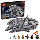 LEGO Star Wars: The Rise of Skywalker Millennium Falcon 75257 Starship Model Building Kit and Minifigures, New 2019 (1,351 Pieces)