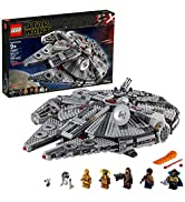LEGO Star Wars: The Rise of Skywalker Millennium Falcon 75257 Starship Model Building Kit and Min...