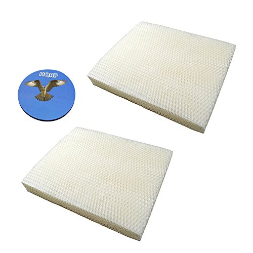 HQRP 2-pack Water Panel Filter Pad for Bryant / Carrier P110-4545 fits Carrier HUMCCWBP2417, Bryant HUMBBWBP2417 Humidifiers + HQRP ()