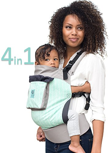 Lillebaby 4 In 1 Essentials Baby Carrier Mint Arrows