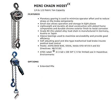 8 foot lift 6 ft drop All Material Handling MM003-08-06 Mini Mini ...