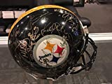 2000 Pittsburgh Steelers Team Signed Full Size Authentic Helmet Hines Ward - JSA Certified - Autographed NFL Helmets