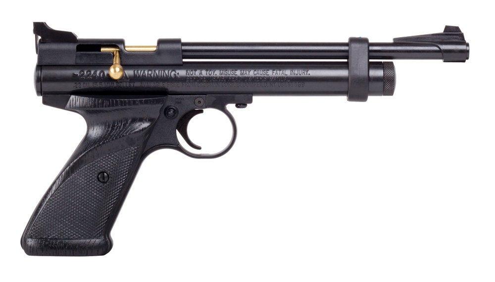 Crosman 2240 Bolt Action CO2 Pellet Pistol (0.22) by Crosman