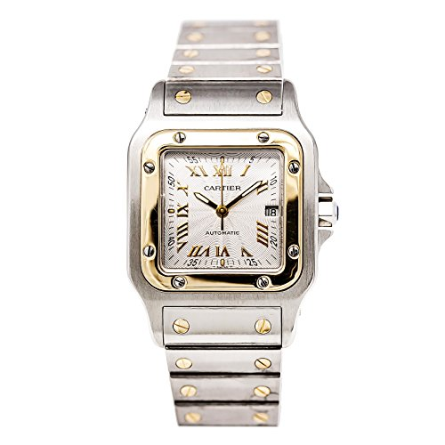Cartier-Santos-automatic-self-wind-mens-Watch-W20058C4-Certified-Pre-owned