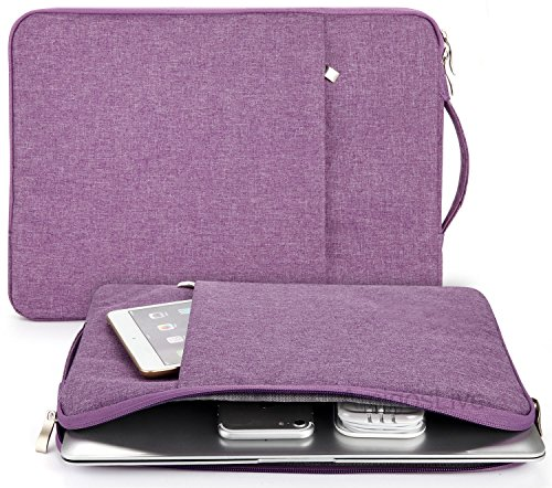 Laptop Sleeve 13.3 Inch, Portable Handle Water Resistant Chr