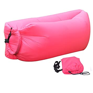 Ttrees Outdoor Aufblasbare Liege Air Sleep Sofa Couch Tragbar Möbel Liege  Praktisch Kompression Air Bag Nylon