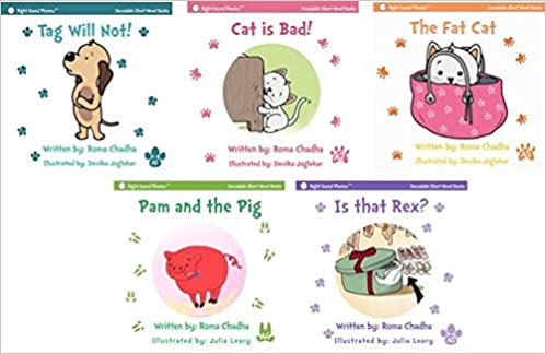 Short Vowel & Sight Words Story Books: For Emergent Readers ...