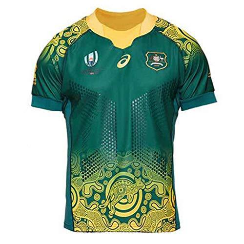 Camisetas de Rugby 2019 Copa del Mundo de Japón Australia Canguro Camisas de Hombre Ropa de Atletas Fútbol Camisetas de…