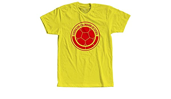 Amazon.com: Sac Apparel Colombia Soccer Team - Sports Tees - Men Graphic Vinyl T-Shirt: Clothing