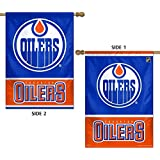 WinCraft NHL Edmonton Oilers 2 Sided Vertical Flag, 28 x 40""