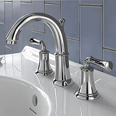 American Standard Portsmouth Widespread Lavatory Faucet with Speed Connect Drain with Lever Handles