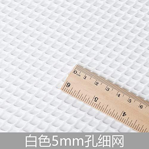 Fabric - Black White Elastic Large Mesh Fabric Hollow Bottom Shirt Jeans Holes Fishing Net Sewing Diy - Interfacing Tree Drawstring Yo Cutter Steamer Markers Pen Jewelry Marking