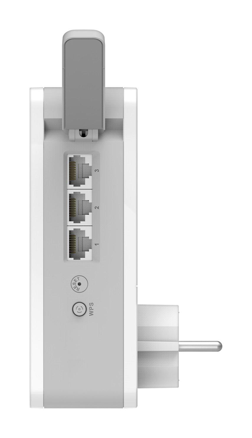 D-Link WiFi MESH Solution Hybride Wi-Fi pr/éconfigur/é il suffit de brancher Un unique nom Wi-Fi- Id/éal pour couvrir toute la maison en WiFi COVR-P2502 CPL pour couvrir toute la maison