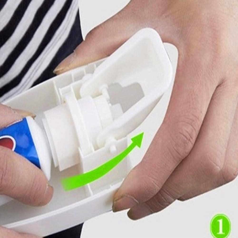5 zahnb/ürstenhalter Set wandhalterung Wein Scelet automatischer Auto zahnpastaspender