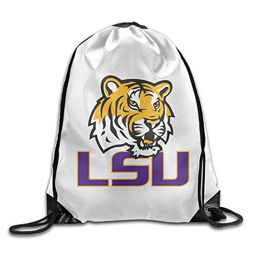 JOKEme LSU Tigers University Logo Drawstring Backpacks/Bags