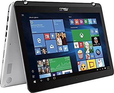 "2017 Newest ASUS Convertible 2-in-1 Full HD (1920 x 1080) 15.6"" Touchscreen Premium Laptop, Intel Core i7-7500U, 16GB DDR4, 1TB HDD + 128GB SSD, 802.11AC, Bluetooth, USB Type C, 3 x USB 3.0, HDMI"