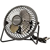 ZOOM USBFAN USB Fan with Aluminum Blades
