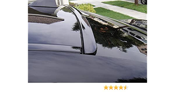 JR2 Painted Black Color for 2004 2005 2006 2007 2008 2009 2010 Scion TC Rear Window Roof Spoiler