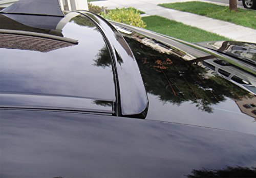 JR2 Painted Black for 2008-2015 5TH Generation BMW 7-Series Rear Window Roof Spoiler - 7 Spoiler Series Roof