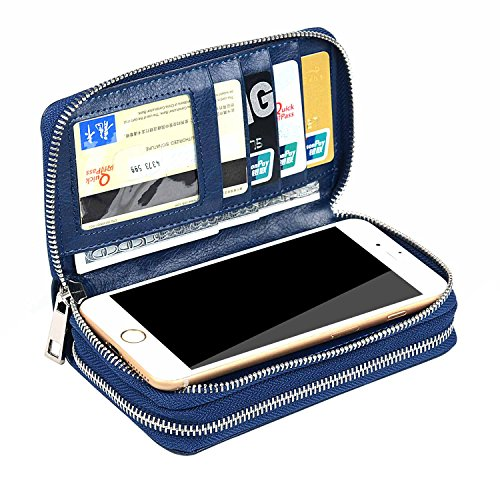 xeyou-women-65inch-multi-function-zipper-leather-wallet-case-with-card-and-money-slots-for-iphone-7-