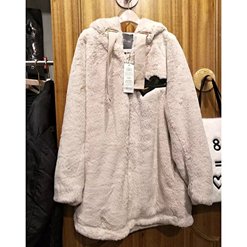 Casual XS Leisure Labeling Coat Xuanku Embroidered Cap Jacket Female Coat Cotton The With Relaxd Cotton THvv6xwd