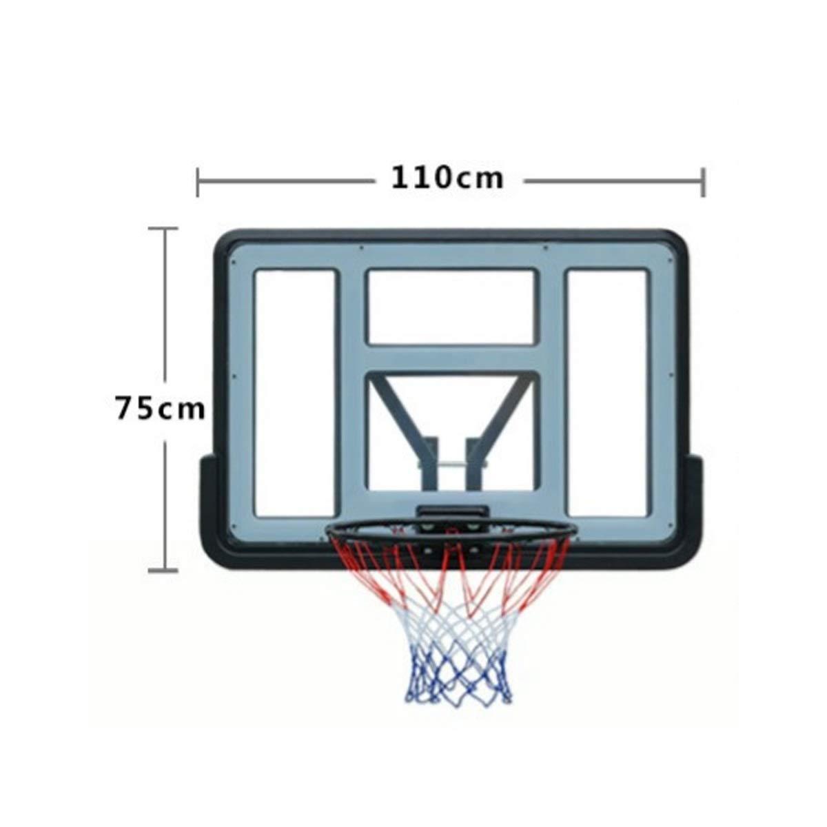CHENTAOCS Caja de Baloncesto estándar for Adultos, Canasta de ...