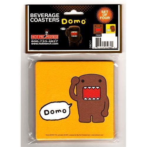- Coasters - Domo Kun - Faces (Set of 4)
