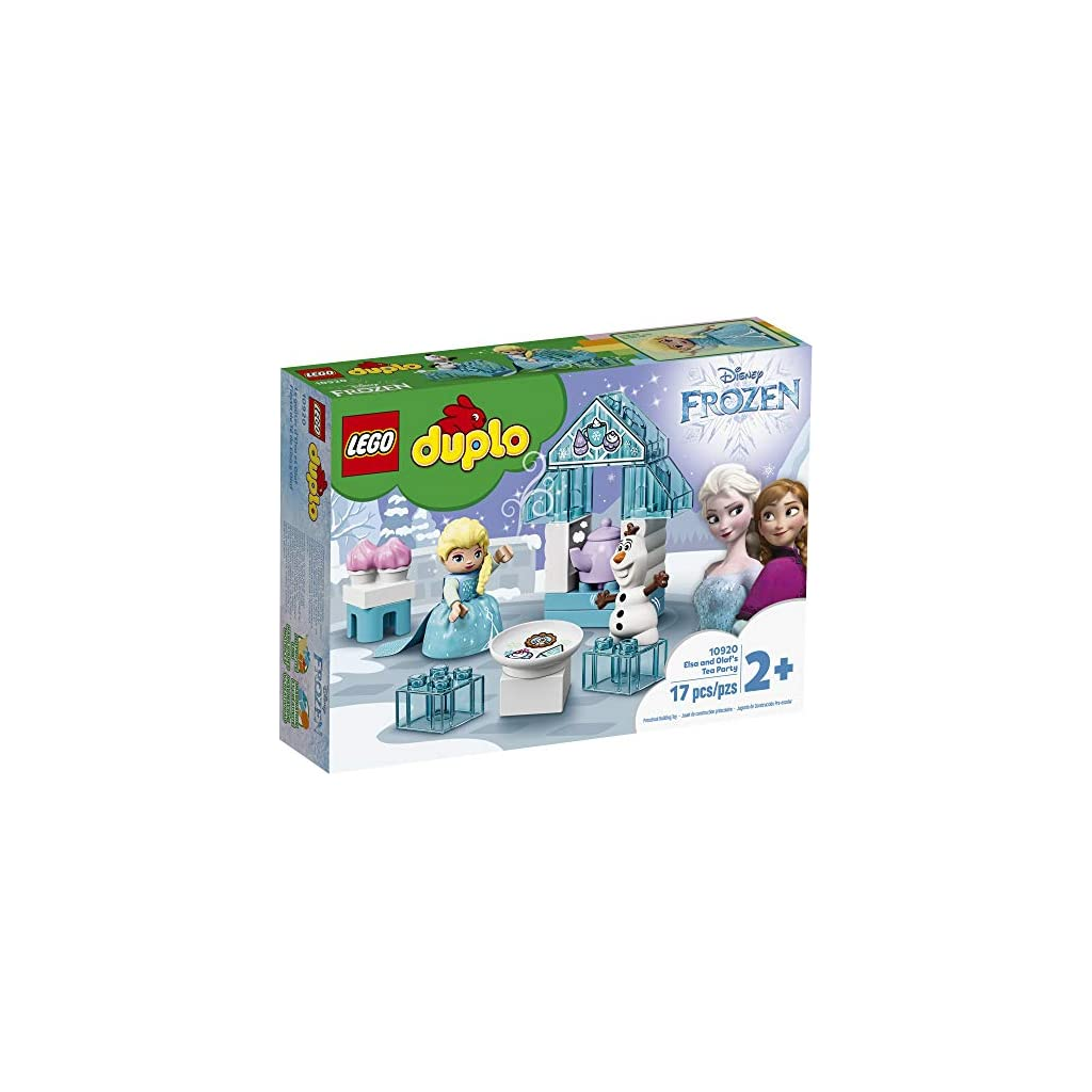 LEGO DUPLO Disney Frozen Toy Featuring Elsa and Olaf's Tea Party 10920 Disney Frozen Gift for Kids and Toddlers, New 2020 (17 Pieces) Top 10 Disney Toys July 2020