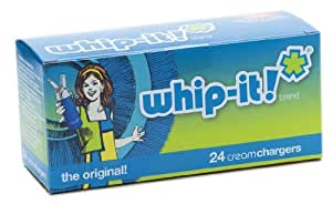 Whip-It! Brand:  The Original Whipped Cream Chargers, 24-Pack