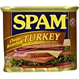 SPAM Oven Roasted Turkey, 12-Ounce Cans (Pack of 6)