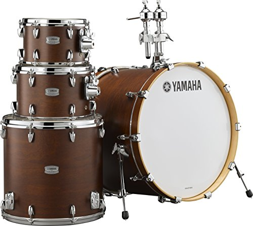 (Yamaha Tour Custom Maple 4pc Fusion Shell Pack, Chocolate Satin)