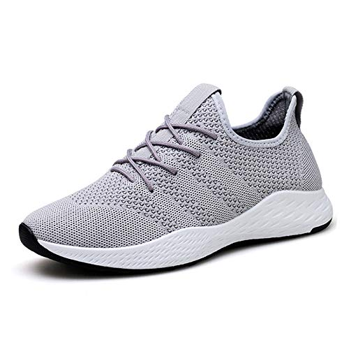 Shoes Negro A Weave Rojo Light Tenis Fly Gray Hombres UqBUwzF6
