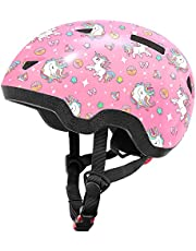 Kids Bike/Skateboard Helmet, Baby, Toddle and Child Sizes for Boys and Girls