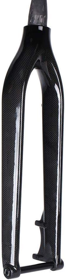 Yareta Full Carbon Fiber MTB Fork 1-1//8 to 1-1//2 Straight Steerer Black