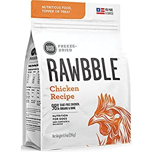 BIXBI Rawbble All-Natural Freeze Dried Dog Food (Chicken, 5.5oz)