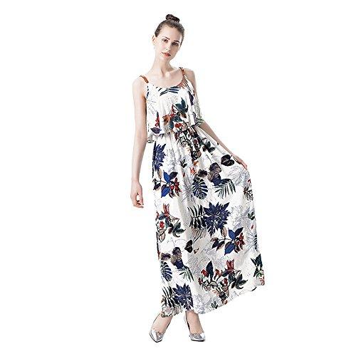 失業者ホールふざけたWorry-Free Shopping DRESS レディース カラー: ホワイト